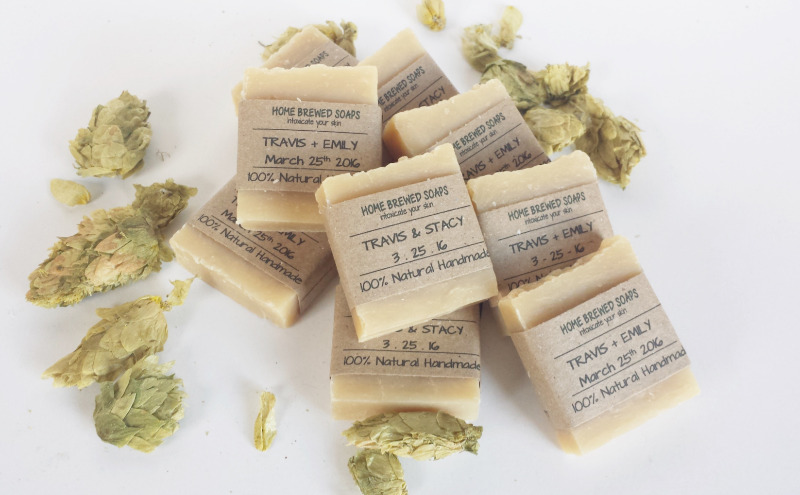 Our soap wedding favors are perfect for your rustic wedding!