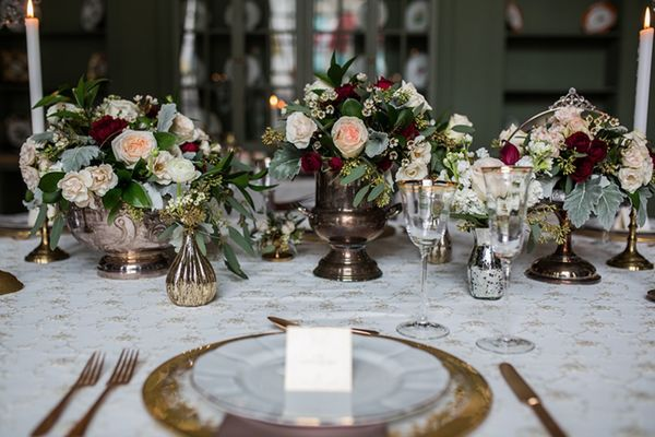 downton abbey inspired wedding ideas