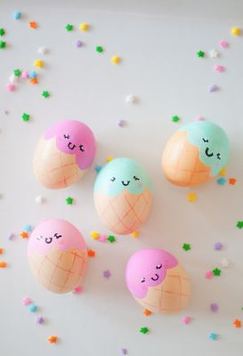 12 Do It Yourself Easter Egg Ideas