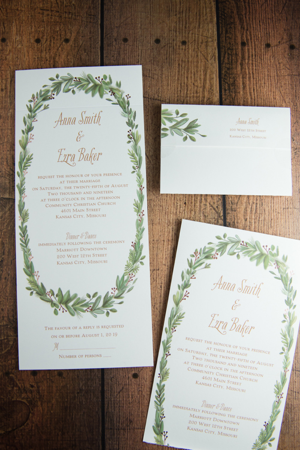 Trending - Wedding Invitations & Cakes For Cold Weather Weddings