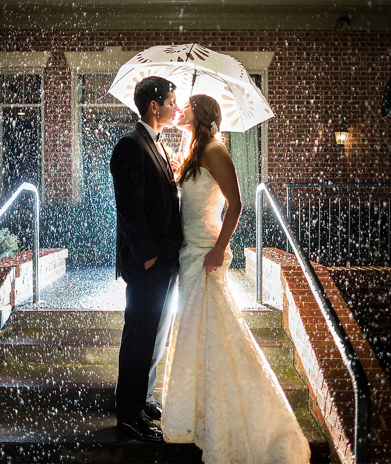 9 Tips For A Rainy Wedding