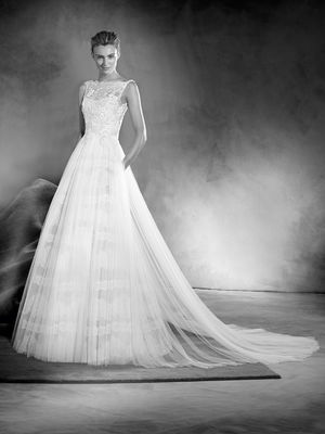 5cef90a3abb 24 28 2017 Pronovias Wedding Dress Collection. 2017 Atelier Pronovias