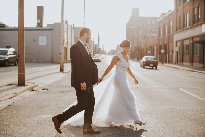 Milwaukee Industrial Chic Wedding || Studio 29 Photography
