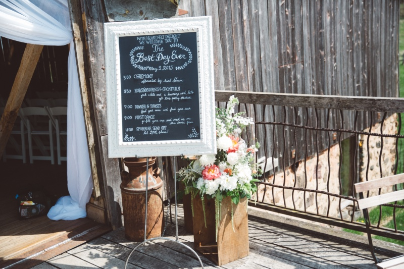 I love doing chalkboard art for weddings + events! Studio 29 Photography + Design Calligraphy by Ren Davis.