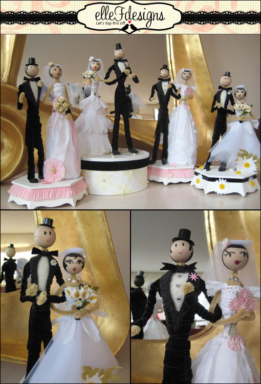 Elle F Designs - Cake Toppers