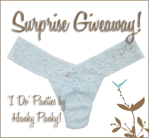 SURPRISE GIVEAWAY!!!!