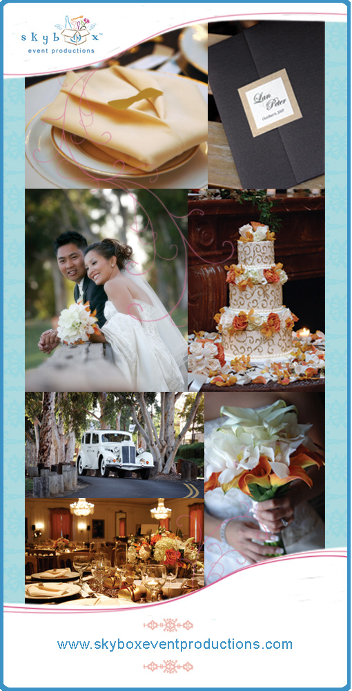 {Skybox Event Productions} Lan & Peter - Orange County, CA