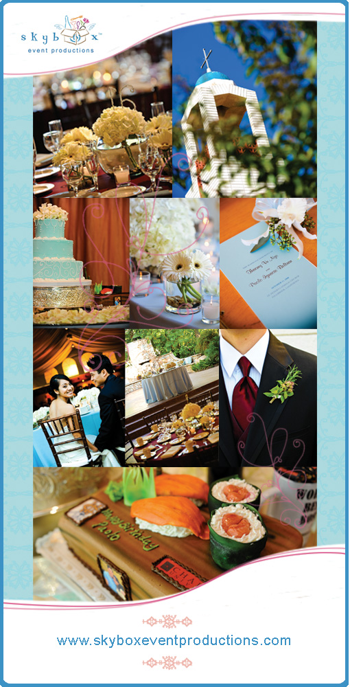 {Skybox Event Productions} Thaomy & Paolo - Fallbrook, CA