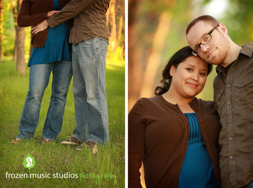 Adam + Rachel:  Downtown Fargo E-Session