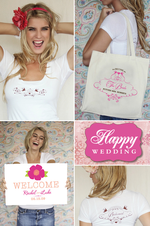 22604e6d0bb9 Grand Opening Giveaway Bridal Party Tees + Sign & Custom Totes