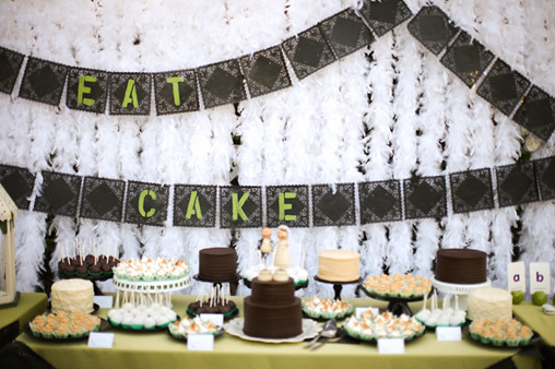 Apple Green Wedding Ideas Part II