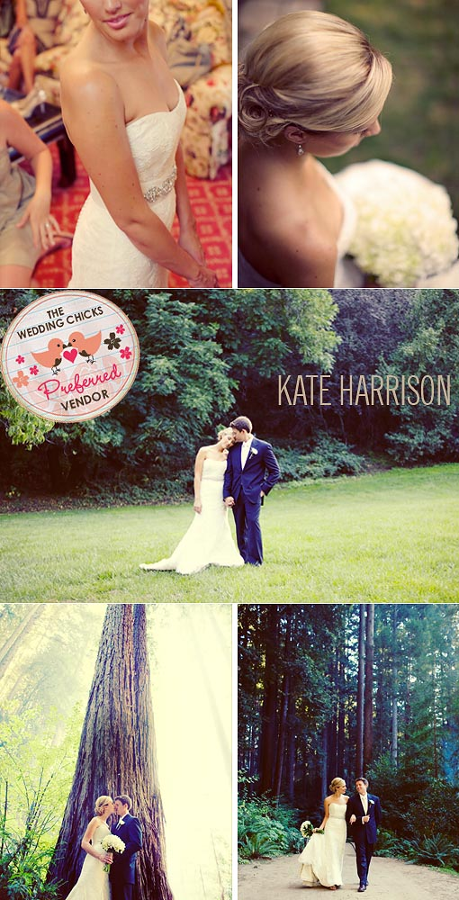Gorgeous, rustic & vintage wedding at Nestldown photographed by Kate Harrison Photography.