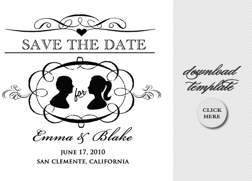 Vintage hankie do it yourself save the date invitations vintage hankie save the date solutioingenieria Images