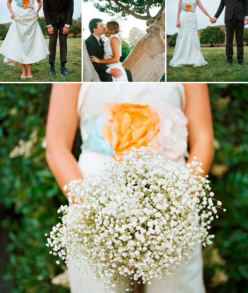Babys Breath Bridal Bouquet