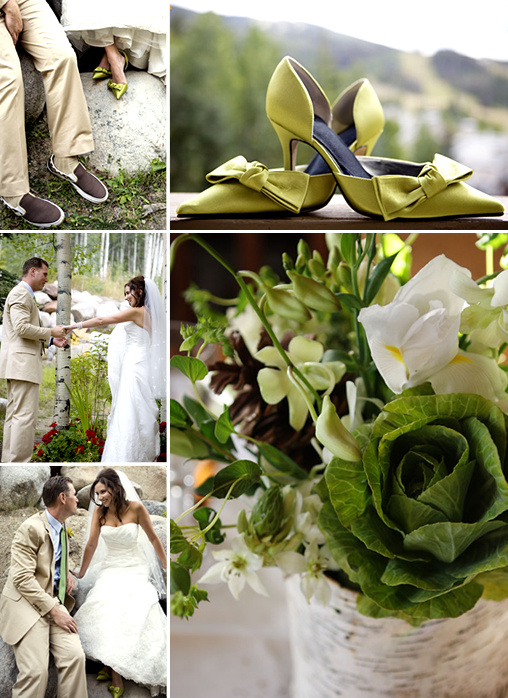 Brown and Green Wedding Ideas