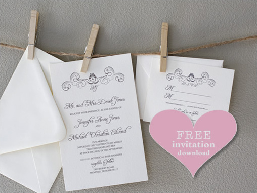 FREE WEDDING INVITAITON