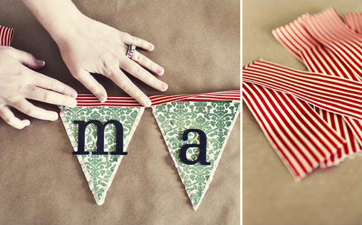 Do it yourself holiday banners custom bunting solutioingenieria Images