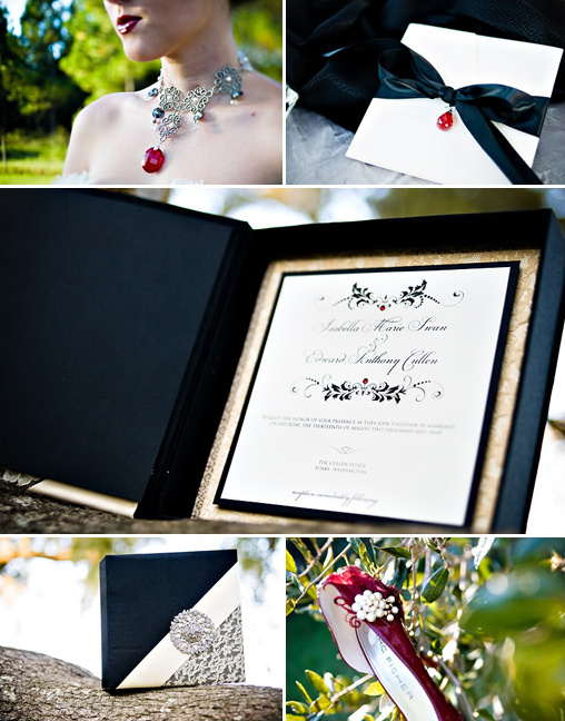 bella and edwards wedding guest book