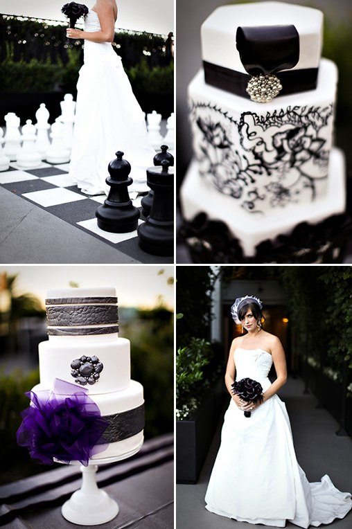 black wedding ideas