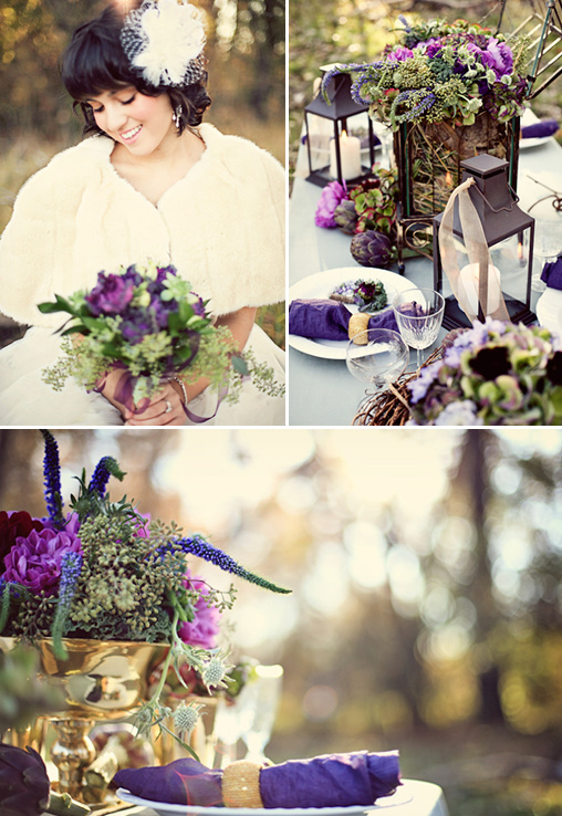 Purple Boho Wedding Ideas