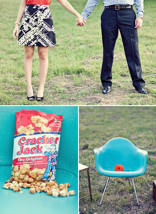 Vintage Engagment Props