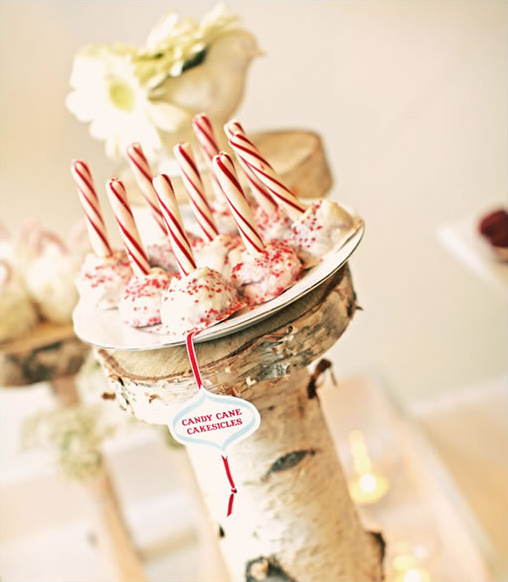 candy cane cakesickles