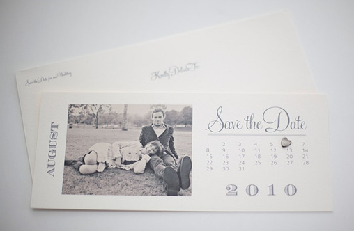 Blog  Free Save The Date Templates  Photo Save The Date Calendar