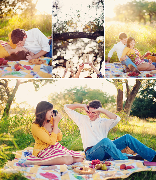 fun engagement shoot ideas
