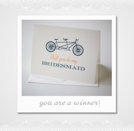 will you be my bridesmaid cards?