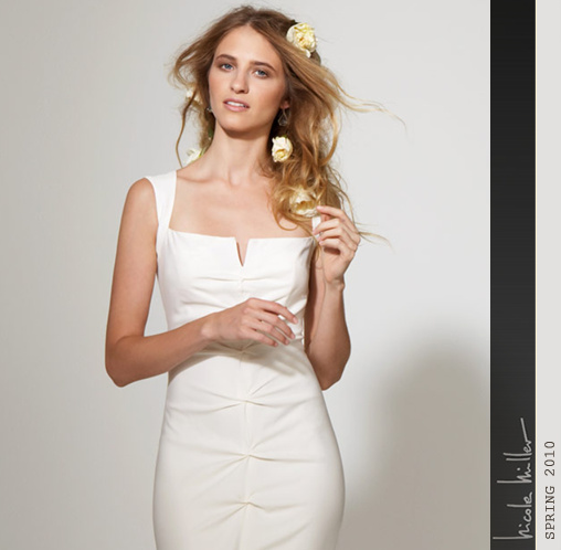 nicolle miller 2010 bridal collection