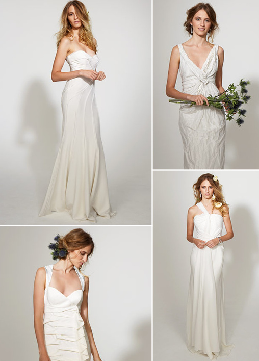 nicole miller 2010 bridal collection