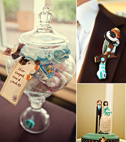 button wedding ideas
