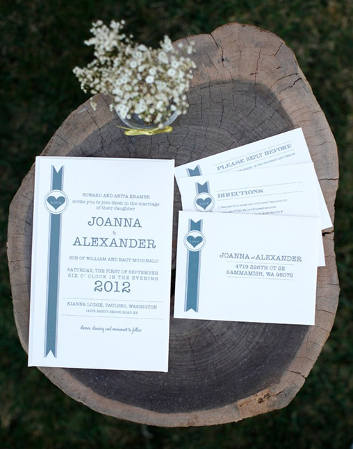 free hip wedding invitation
