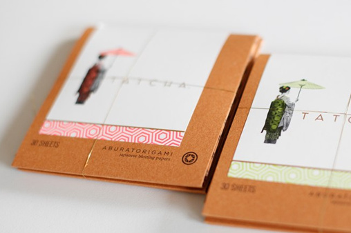 geisha blotting papers