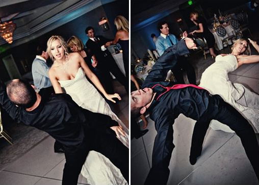 crazy wedding dance moves
