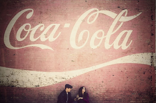 50's style engagement shoot
