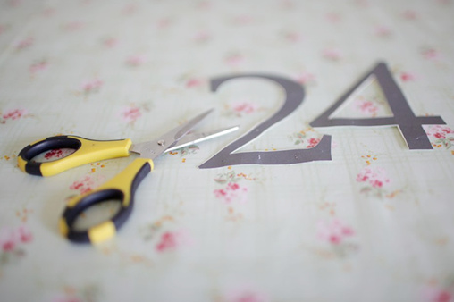 easy do it yourself table numbers