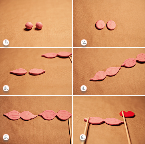 mustaches diy tutorial
