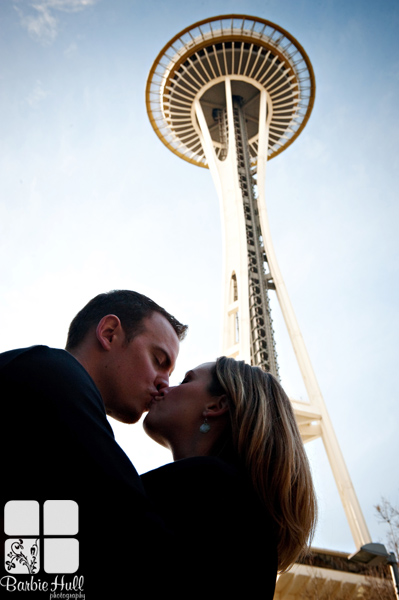 The space needle,