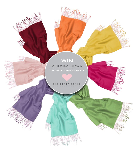 Win Pashmina Shawls For Your Wedding Party
