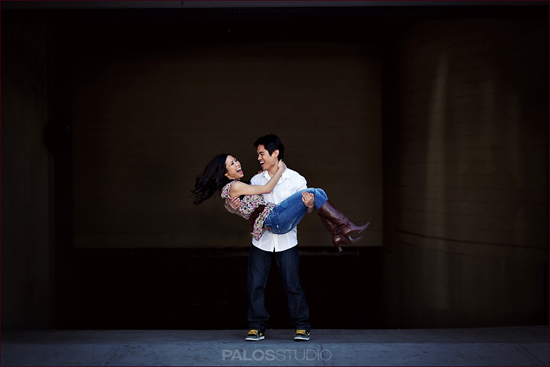 Old Town Pasadena Engagement Session | Palos Studio