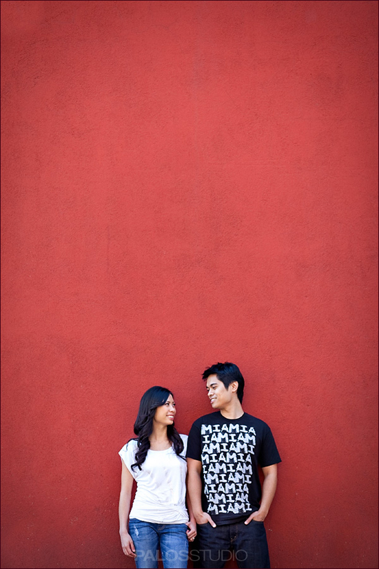 Old Town Pasadena Engagement Session