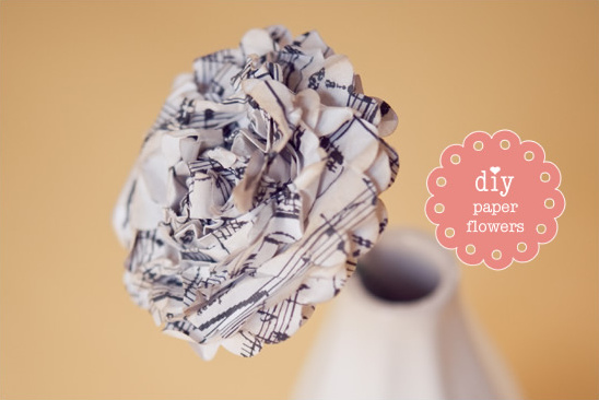 Do It Yourself Paper Flowers