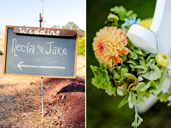 A Real Central Coast DIY Garden Wedding