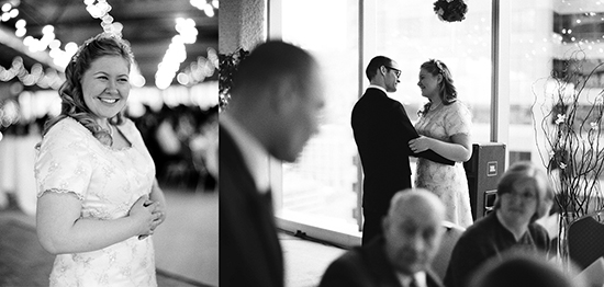 [ A wedding reception with a vision ]
