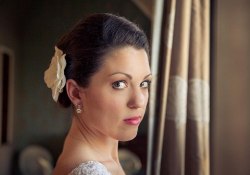 A timeless bridal session