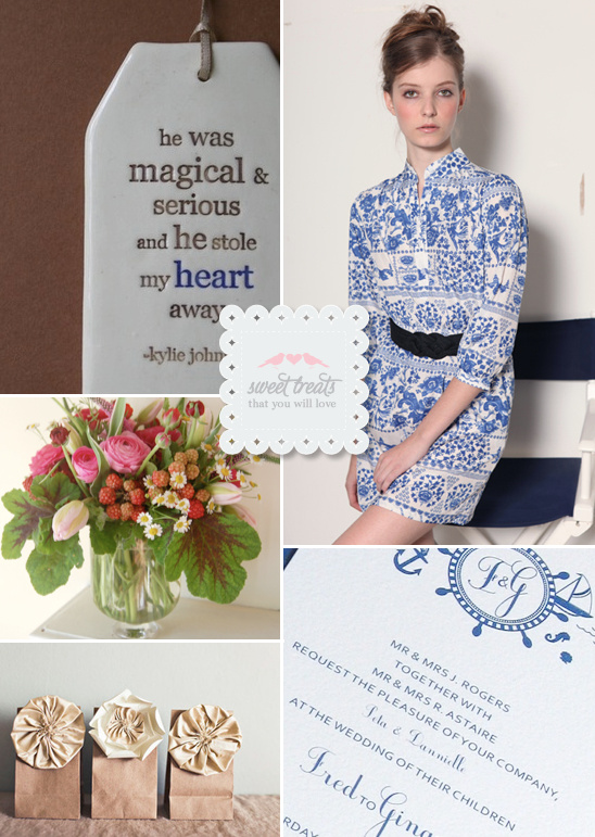 Sweet Treats + Navy Wedding Ideas