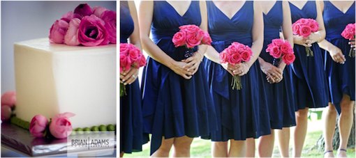 Classic Navy Blue Wedding Ideas