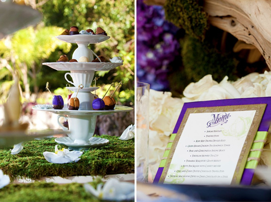 Purple Fairytale Wedding