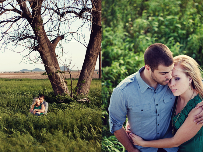 Windy Day Engagement Session | Amelia Kate Photography